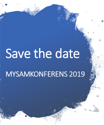 Mysamn Konf Save The Date 2019